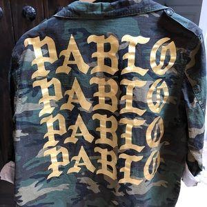 Jackets & Blazers - Life of PABLO - Kanye military green jacket